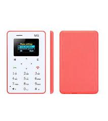 Pink Card Phone