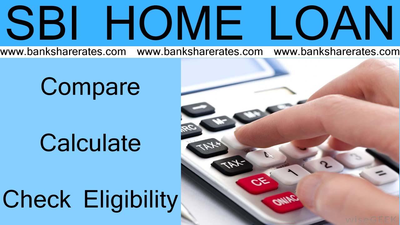Sbi Home Loan Emi Calculator July 2017 8 35 Compare Calculate