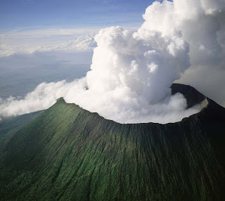 nyiragongo volcano. goma, RDC