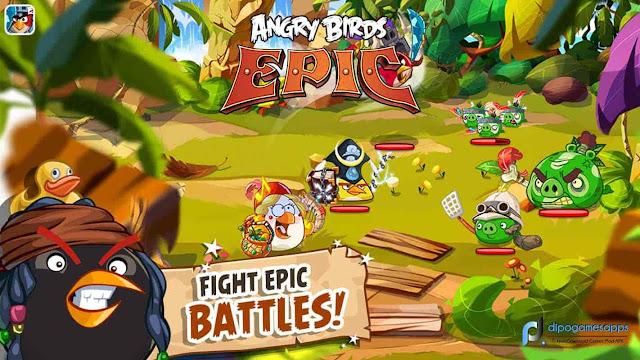 Download Angry Birds Epic APK Terbaru 2018