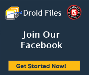DroidFiles Facebook Page Style