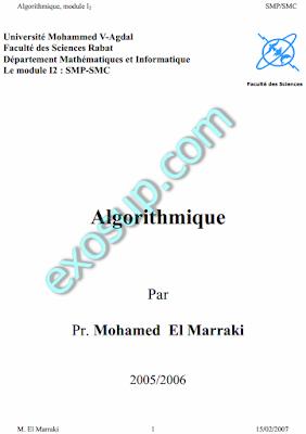 cours d'algorithmique smp fsr