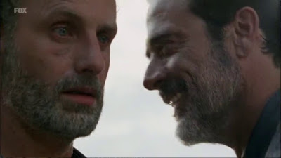 Momento gay jaja, Negan y Rick, 'The Walking Dead'