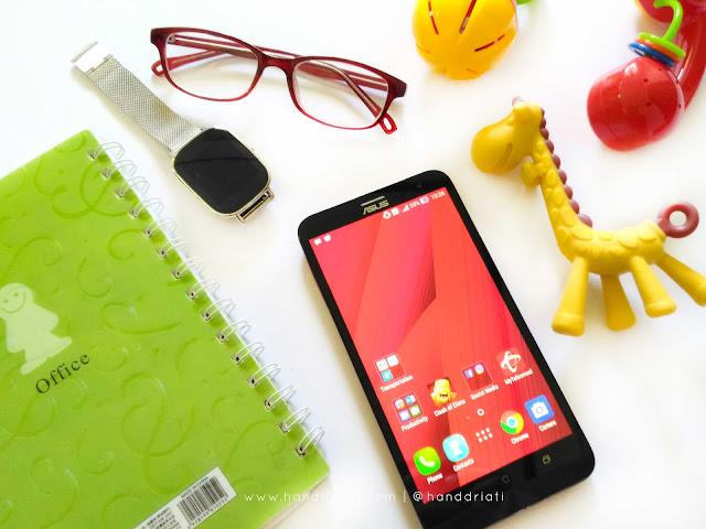 Review ASUS Zenfone 2 Laser ZE601KL : Smartphone Dengan Layar Lebar