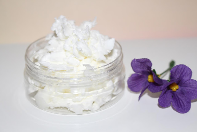 crème pour le corps - chantilly - cosmétique fait maison