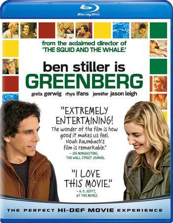 Poster Of Greenberg 2010 English 300MB BRRip 480p ESubs Free Download Watch Online Worldfree4u