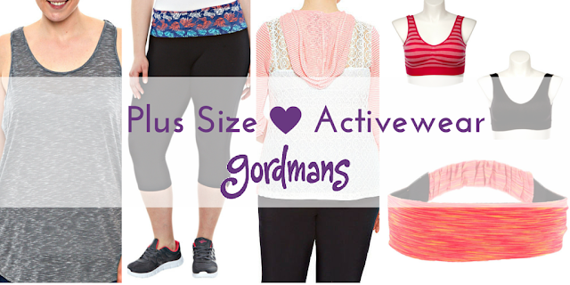 Plus Size Active Wear Essentials from Gordmans
