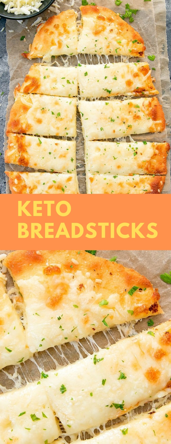Keto Breadsticks #BREADSTICKS #KETORECIPES