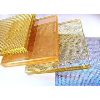 Fabric Laminated in Glass