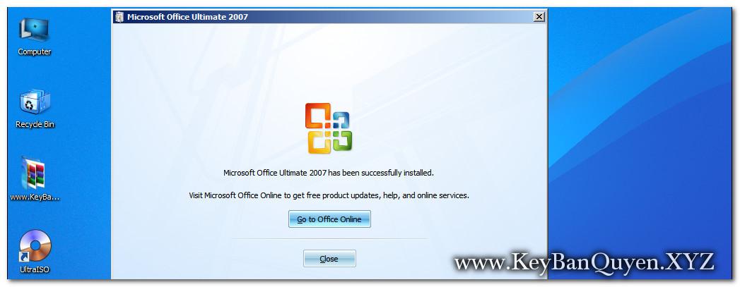 Hướng dẫn cài đặt Microsoft Office 2007 bản quyền