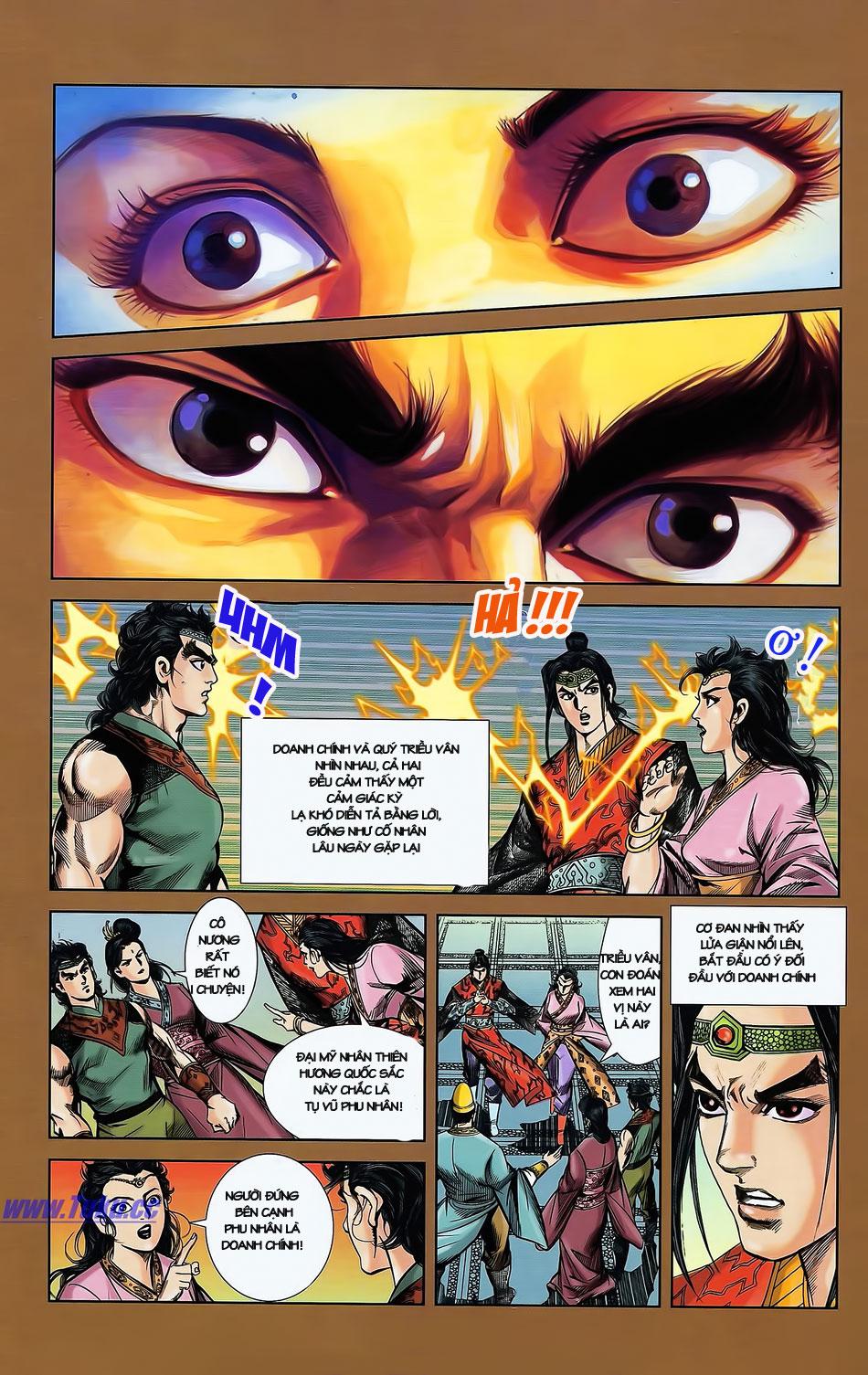 Tần Vương Doanh Chính chapter 2 trang 9