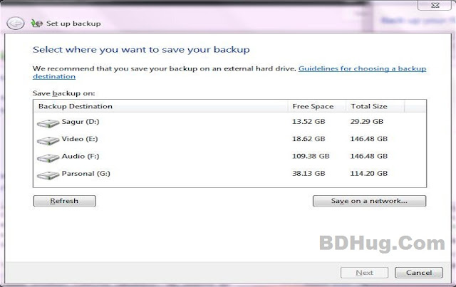 Back Up Your Files On DVDs or CDs Step 2