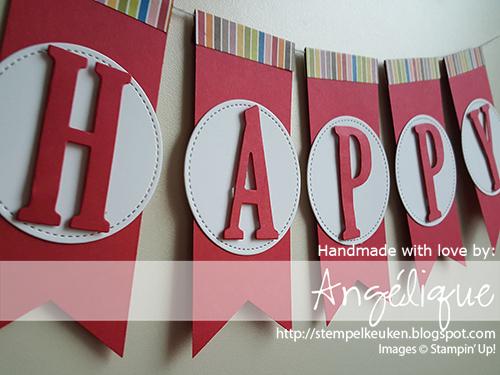 Stampin'Up! producten koop je bij de Stempelkeuken! http://stempelkeuken.blogspot.com #birthdaymemories #birthdaydelivery #birthday #realred #bigshot #framelits #thinlits #suite #stampinup #stampinupnl #creatief #stempelkeuken #papercrafting #kaartenmaken #bigshot #birthday #verjaardag #cadeautje #cadeau #presents #traktatie