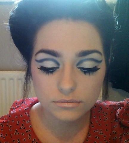 60s makeup look