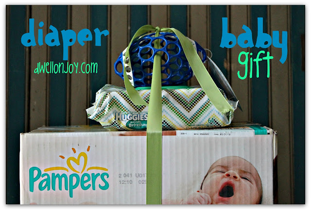 Baby Gift Ideas For Runners : Diaper baby gift for new parents dwell on joy