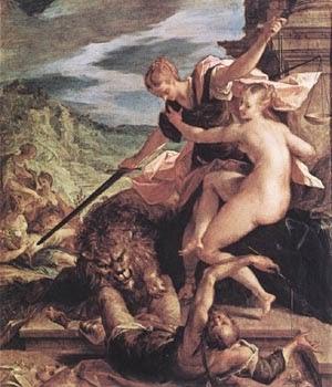O Triunfo da Justiça - Hans Von Aachen e suas pinturas ~ Um grande pintor do estilo maneirista