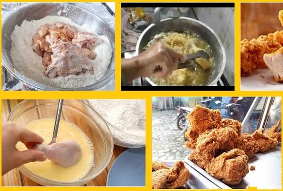 Resep cara membuat fried chicken beserta tepungnya