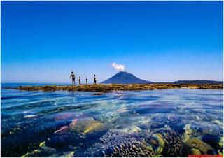 surga  bawah laut wisata bunaken