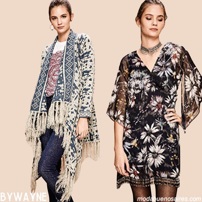 Cardigans, sacos y vestidos otoño invierno 2019.