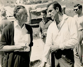 Ian Fleming, Sean Connery, James Bond