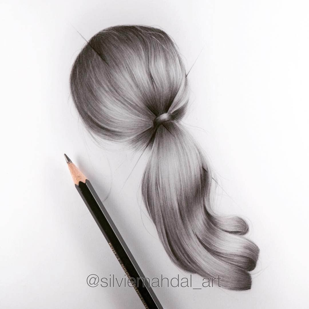 11-Ponytail-Silvie-Mahdal-Realistic-Anatomical-Detailed-Portraits-www-designstack-co