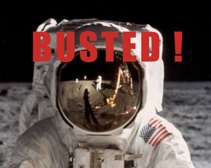 The Conspiracy Zone : THE MOON LANDING HOAX....