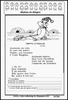 Poesia Pepito o pinguim