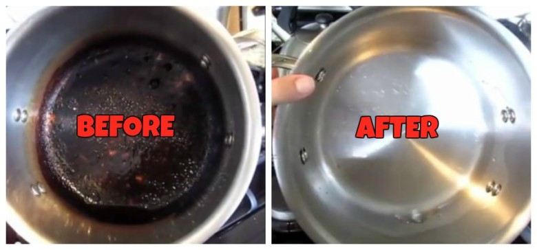Get Rid Of Terrible Stainless Steel Burns