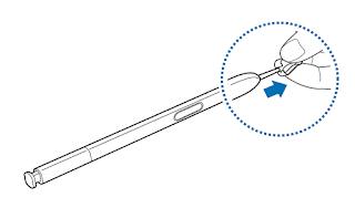 Tutorial Replacing the S Pen nib Samsung Galaxy Note 5