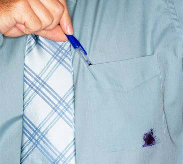 how to remove ball pen stain from shirt