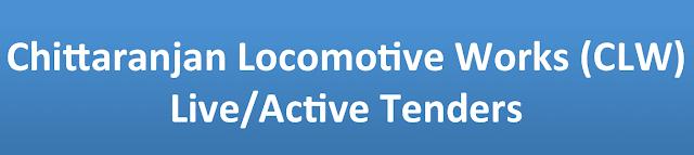 Chittaranjan Locomotive Works (CLW) Live/Active Tenders