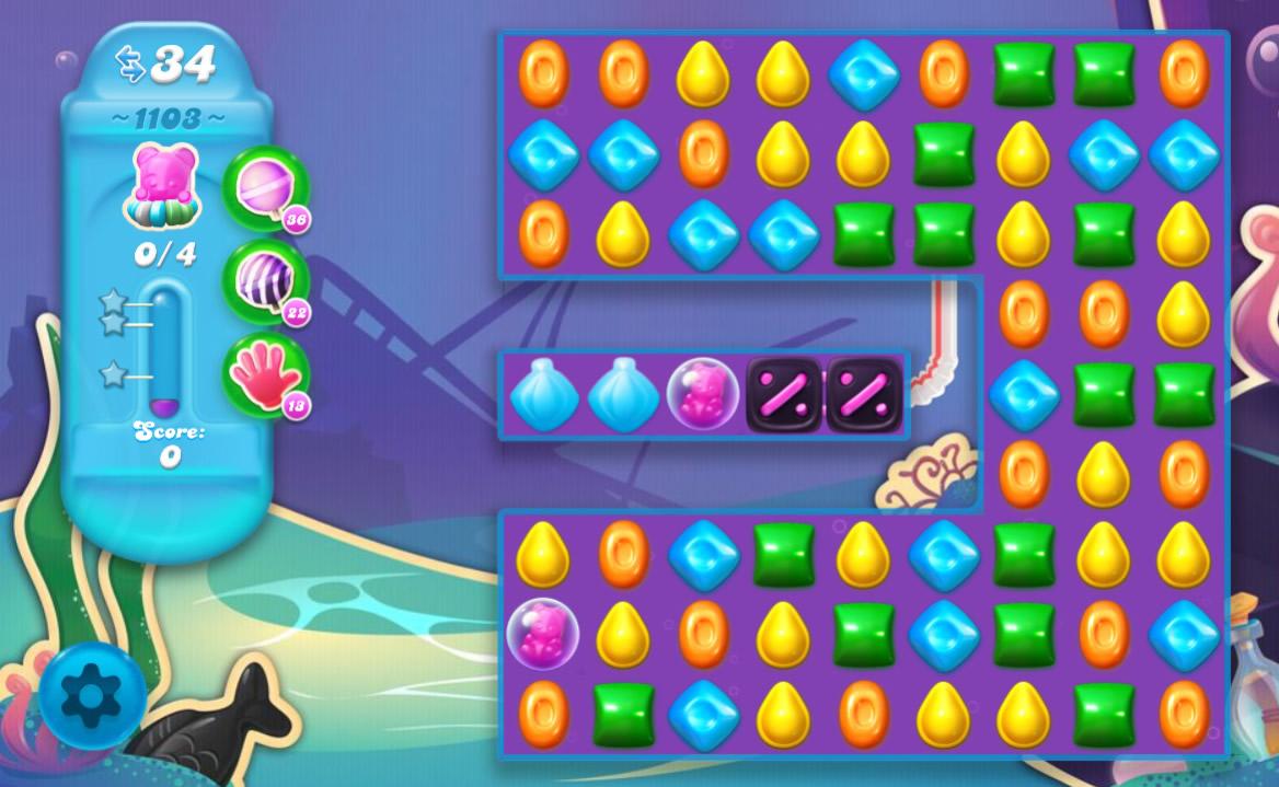 Candy Crush Soda Saga level 1103