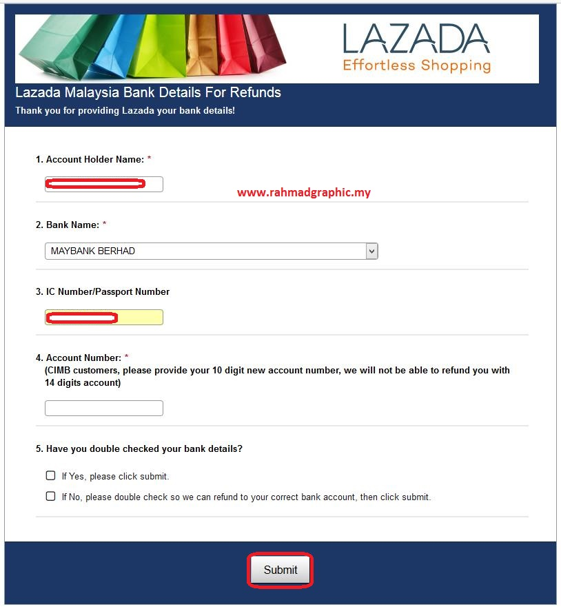 Cara Cancel Order Di Lazada