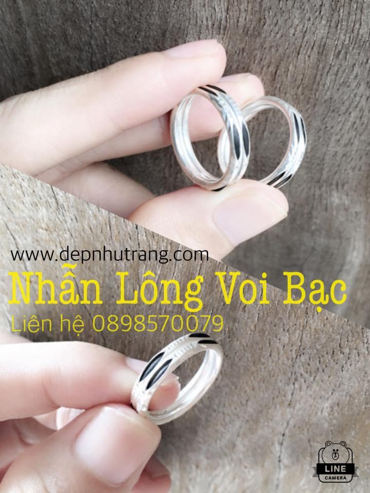 Hình ảnh nhẫn lông voi đẹp và độc đáo được ưa chuộng hiện nay cho CTV bán hàng