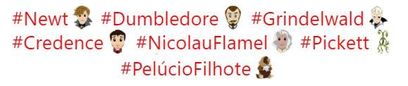 Personagens de 'Os Crimes de Grindelwald' ganham emojis no Twitter | Ordem da Fênix Brasileira
