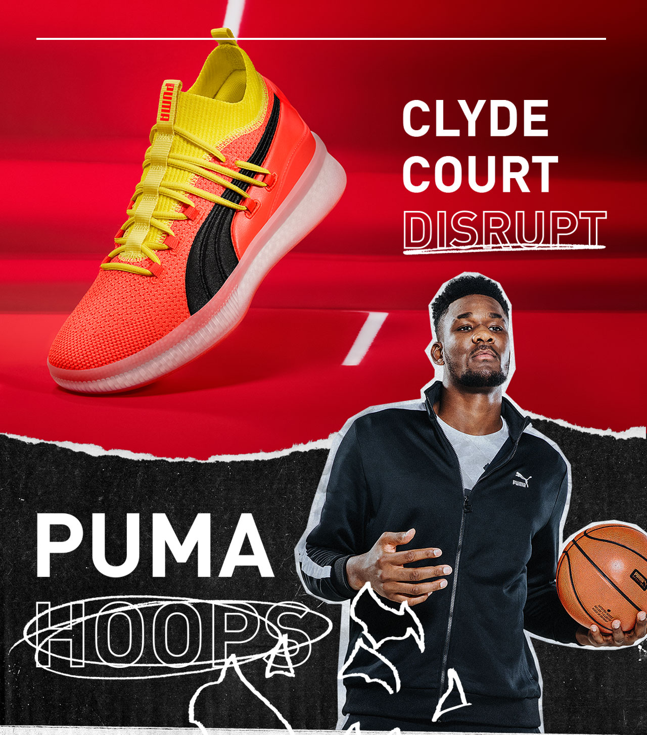 e599b6a8981b Make those moves in the Clyde Court Disrupt. Don t flinch. Clyde Court  Disrupt Basketball Shoes