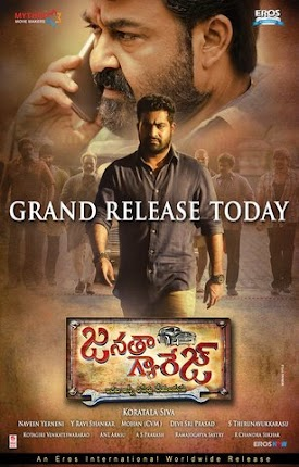 Jr NTR, Samantha Akkineni Janatha Garage movie is 9th list in Telugu 100 Crore Club Movies List in 2016. Janatha Garage Is Fastest 100 Crore Box Office Records