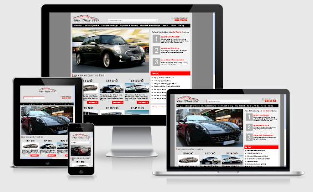 cho thuê xe - mẫu blog dịch vụ cho thuê xe
