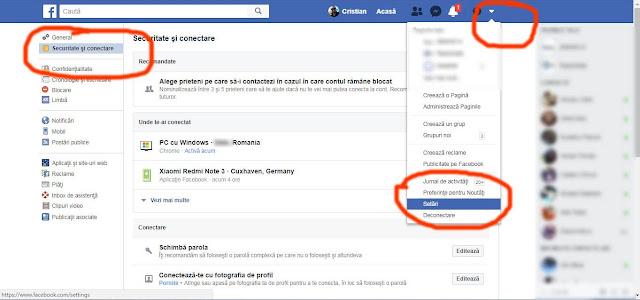 Dacă ai cea mai mica bănuiala că cineva ți-a accesat contul de Facebook,poți verifica ușor acest lucru chiar din pagina ta de Facebook.Pentru cei mai novice,hai sa aflam cum sa vezi cine ti-a accesat contul de Facebook,de unde si cu ce dispozitiv