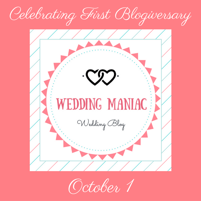 Happy 1st Birthday Wedding Maniac