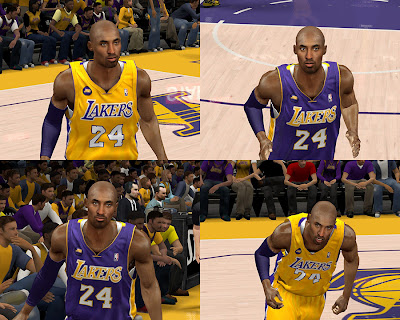 NBA 2K13 Best Kobe Bryant Cyberface Mod
