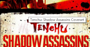 Tenchu time of the assassins cso
