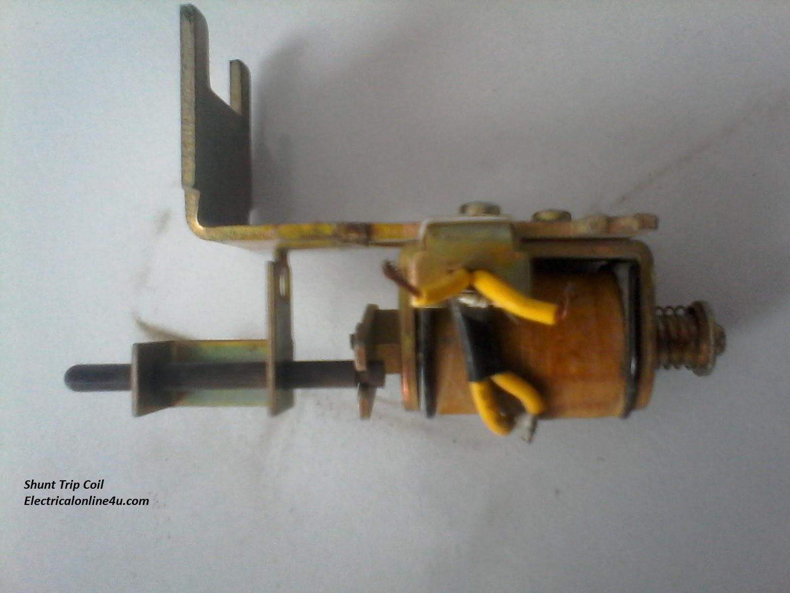 medium resolution of shunt trip breaker wiring diagram explanation