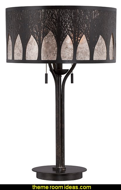 Mica Vega Imperial Bronze Finish Table Lamp