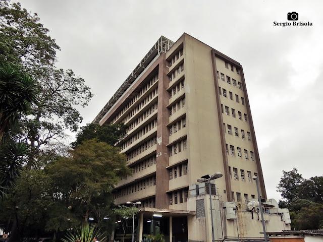 Vista ampla do Instituto de Infectologia Emílio Ribas - Pacaembu - São Paulo