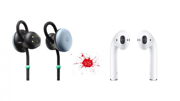 How the Google Pixel Buds compare to Apple AirPods - Timigate