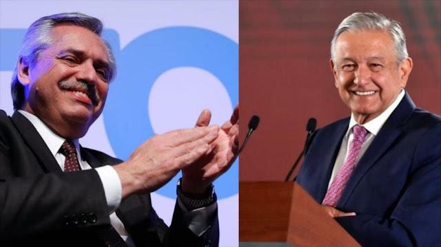 Presidente electo de Argentina se reúne con López Obrador