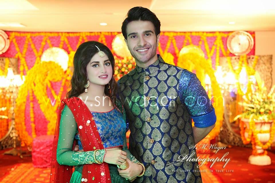 Beautiful Sajjal Ali At Dua Malik Wedding B Amp G Fashion
