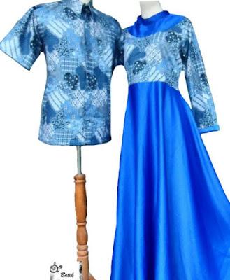 Model Dress Batik Orang Gemuk terbaru