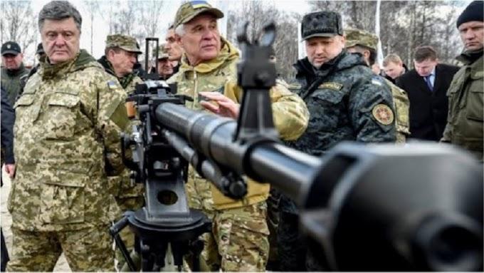 Украйна въвежда военно положение за срок от 30 дни